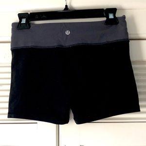 Lululemon Black & Grey Shorts